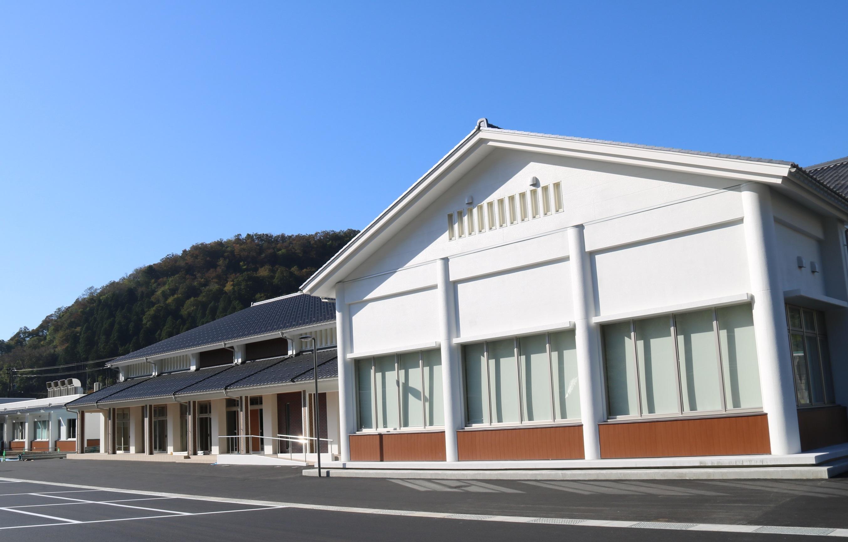 今庄図書館(外観)